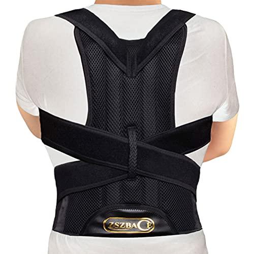 Back Support Belt- Posture Corrector for Men...