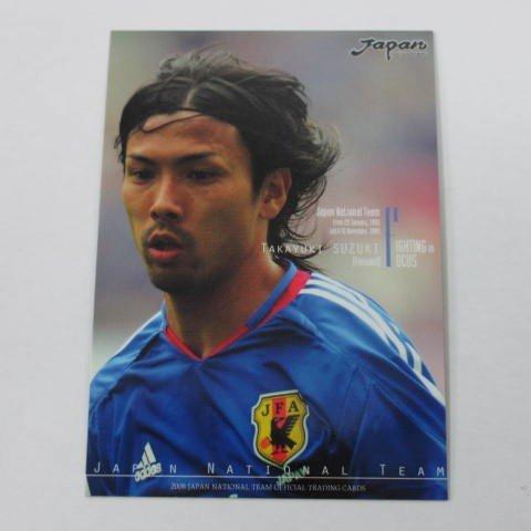 2006サッカー日本代表オフィシャルトレカ■レギュラーカード■094/ 鈴木隆行