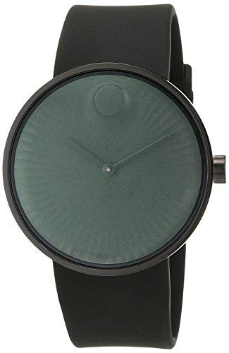 Movado Heren Analoog Klassiek Quartz Horloge met Rubber Band 3680005