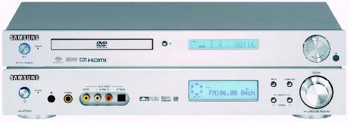Samsung HT-AD 700 RH Heimkino-System (bestehend aus Samsung AVR-700 und Samsung DVD-HD 945 mit HDMI)
