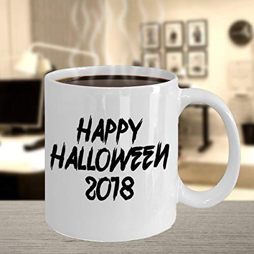 Gelukkig Halloween 2018 Dag van de Dode Viering Trick of Behandel Kostuum Party Spooky Night Potion Concoction Koffiemok Gift Souvenir 181 J