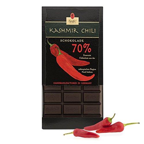 Leysieffer-Jahrgangsschokolade 70 {4ae97cba5a107681807d751e61cc40b76068357da775fe2510d5f8193e335027} mit Kashmir-Chili