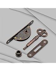 tooloflife Meubelslot kastdeur slot antieke kast slot decoratief retro meubelslot met sleutel 2 types