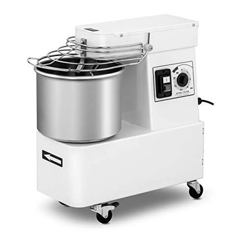 Royal Catering Máquina Amasadora para Pan Y Pizza RC-SPFH10 (Volumen: 10 L,...