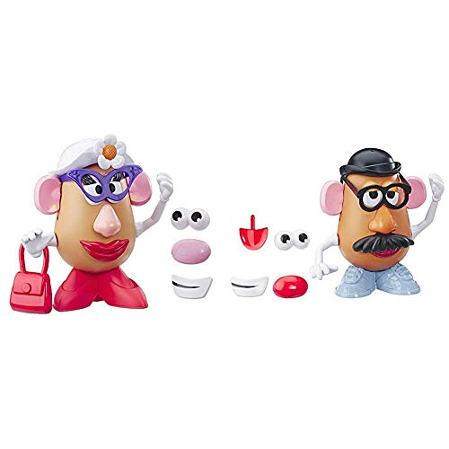 Mr Potato Head Disney/Pixar Toy Story 4 Classic Mrs. Figure Toy for Kids Ages 2 & Up & Mr Potato Head Disney/Pixar Toy Story 4 Classic Mr. Figure Toy for Kids Ages 2 & Up