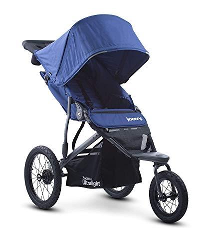 Joovy Zoom 360 Ultraleichter Jogging-Kinderwagen, beere Blau