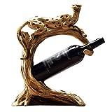 Botelleros Estante para Vinos Mesa De Trabajo para Estantes para Vinos Armario De Almacenamiento De Vinos Artesanías De Sala De Estar Armario De 1 Botella para Bares, Estudio armarios para Vino