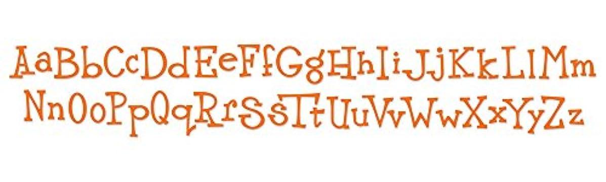 Ellison Sizzix Sizzlits Decorative Strip Die-Wingo Zingo Alphabet
