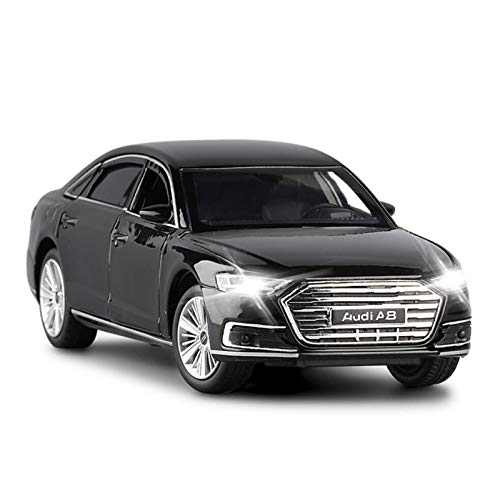 Modellino pressofuso 1:32 per Audi A8 Model Cale Diecast Metal Toy Sound Light Car Doors Openable Educational Collection Gift (Size : 1)