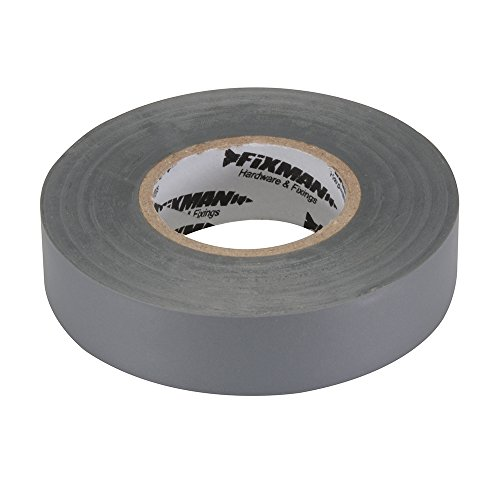 Fixman 188969 Isolierband 19mm x 33m, grau