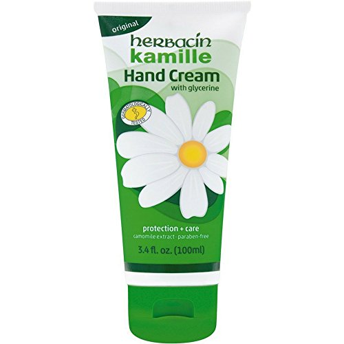 Herbacin Kamille with Glycerine Hand Cream 3.4 oz (Pack of 5)