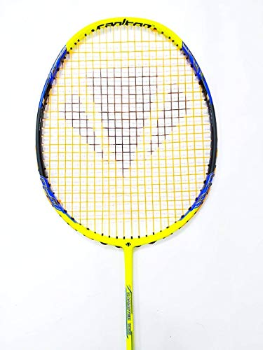 Carlton Carbotec 1000 Badminton Racket (Lime Yellow)