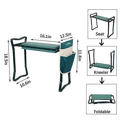 Luckerymore Folding Garden Kneeler