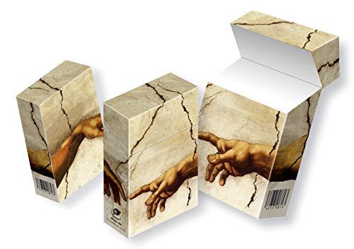 cardbox media solutions slipp overall ZIGARETTENSCHACHTEL ÜBERZIEHER Zigarettenschachtel Hülle Komplettüberzieher mit Deckel (051 Michelangelo, 3 Stück)
