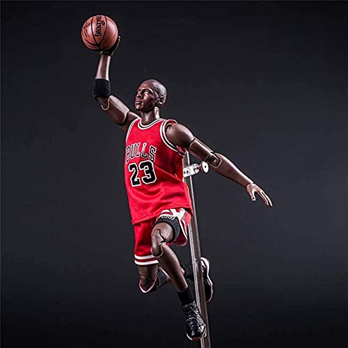 UYKOKH NBA Baloncesto Stars 23 Michael Jordan Número de acción 1/9 Toys Souvenir Ornament Adornos Halloween, Navidad, Acción de Gracias, Cumpleaños Mejor Regalo