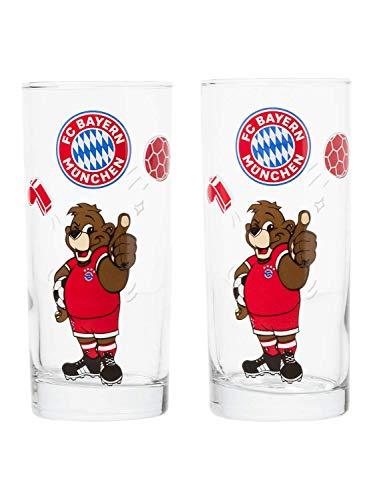 FC Bayern München Glas Berni 2er Set