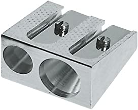 Faber-Castell 50-34 183400–Sacapuntas doble, metálico