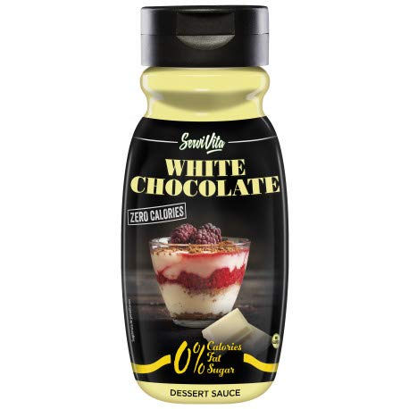 Servivita Sirope Chocolate Blanco - 320 ml