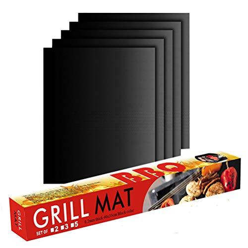 J-ouuo Grill Mat Set Non-Stick B...