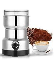 200W Elektrisk Kaffekvarn med Rostfritt Stålblad och Genomskinligt Lock, Can Mala Kaffebönor, Bönor, Nötter, Bönor, Paprika, Kryddor