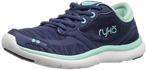 Ryka Women's Carrara Running Shoe, Navy, 7 M US