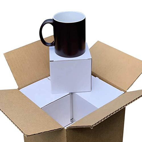 Magic Mug Color Changing for Sublimation x8 Mugs with White Box for Each.