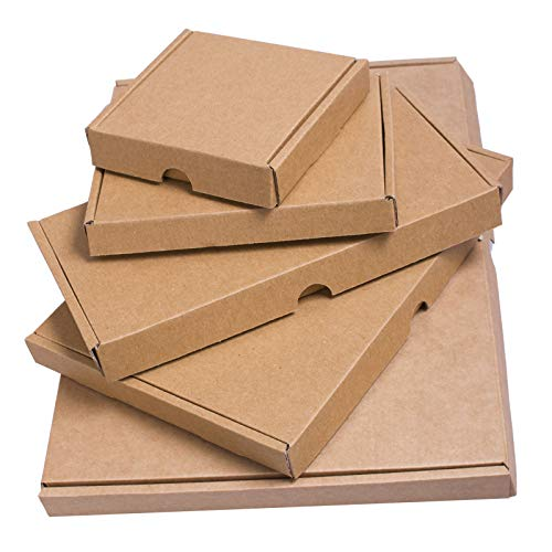 Zwarte Vrijdag Verkoop Grote Mail Brief Kartonnen Doos Verzending Mail Postal PIP C4/C5/C6/DL (C4-320mm x 230mm x 20mm / Hoeveelheid. 5 stuks.