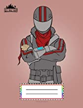 Fortnite: Graph Paper Composition Notebook: 4 Squares Per Inch 4x4 / Blank Graphing Paper Notebook,110 pages Large Size 8.5x11, Cosmetic Astronaut ... science, engineering, laboratory subjects