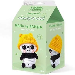 Kit Crochet Amigurumi - Nana le Panda
