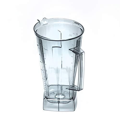 Recipiente de repuesto para licuadora Vitamix, ideal para batidos, sopas, frutas congeladas, contenedor de agarre duro compatible con accesorios Vitamix
