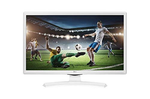 "LG 24TK410V-WZ - Monitor/TV de 24"" Led TDT2 HD-Ready (1366 x 768 px, Modo Juego, Anti parpadeo, 200 Hz MCI, USB AutoRUN), Blanco"