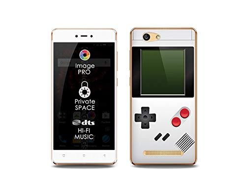 etuo Handyhülle für Allview X3 Soul Lite - Hülle, Silikon, Gummi Schutzhülle Fantastic Case - Weißes Game Boy