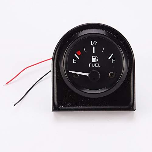 U/D HKRSTSXJ Kraftstoffanzeigen Universal-Auto-Automobil-52mm Fuel Gauge Level Meter Dector Sensor Schwarz