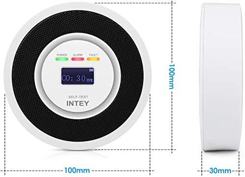 INTEY : détecteur de monoxyde de carbone 2