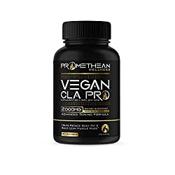 commercial Vegan CLA Pro 2000mg Pure Premium CLA Safflower Oil Conjugated Linoleic Acid Best Tummy Fat … cla 2000 mg