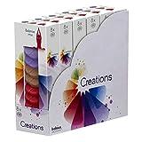 Generisch 48 Stück Bolsius Creations Schmelzblüten Duftblüten Melts Aromatic Wax Wachs (6 x 8er Pack) (Balance Mix)
