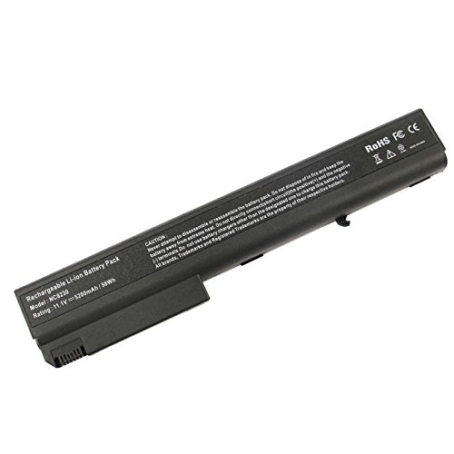 ASUNCELL Batteria del computer portatile per HP Business Notebook NW8200 NW8240 NX8200 NX8220 NX9420 NX7300 NX7400 NC8200 NC8230 NC8240 8510P 8510W 8710P 6720T 8710W 8200 7400 8400 8500 9400