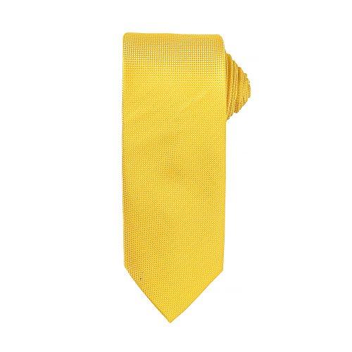 Premier - Corbata formal para hombre (Paquete de 2) (Talla Única) (Amarillo oscuro)
