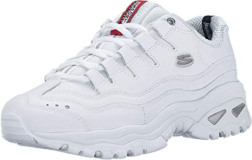 Skechers SPORT - ENERGY, Women's Low Top Trainers,White (White (Wml)),4 UK (37 EU)