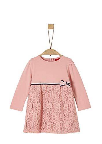 s.Oliver Baby-Mädchen 59.911.82.2934 Kleid, Rosa (Rose 4257), (Herstellergröße: 80)