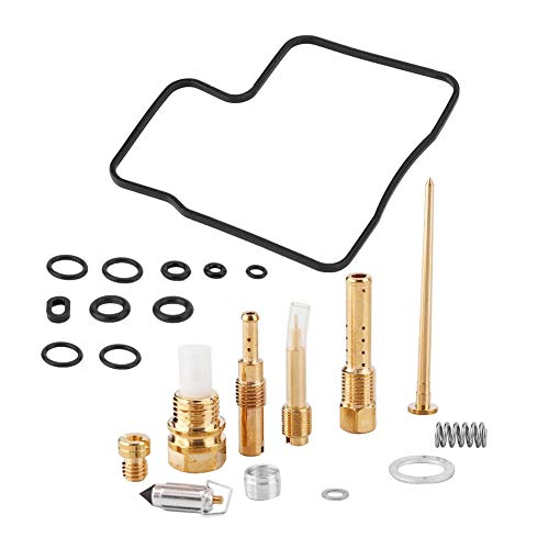 Cloudbox Kit di Riparazione carburatore -22 Pezzi Kit di ricostruzione Riparazione carburatore per VT750 98-03