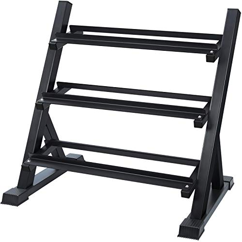 Our #4 Pick is the Akyen 3 Tier Dumbbell Rack