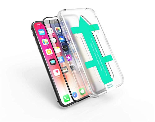 Power Theory Panzerglasfolie kompatibel mit iPhone XR/11 Full Screen 3D - Full Cover Panzerglas Folie/Schutzfolie, Displayschutzfolie/Panzerfolie, Tempered Glas, Screen Protector