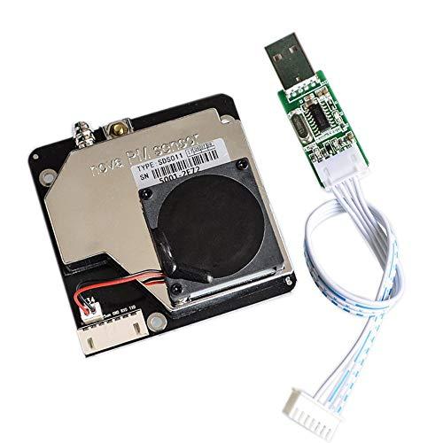 DollaTek PM Sensor SDS011 Sensor de detección de Calidad del Aire de Alta precisión PM2.5 Sensores de Polvo estupendo Salida Digital