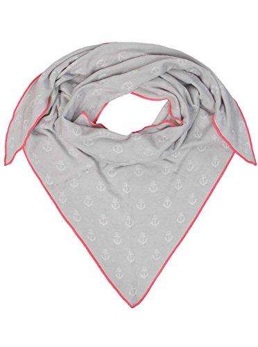 Zwillingsherz Dreieckstuch mit Baumwolle - Hochwertiger Schal mit Anker Print für...