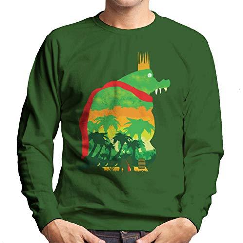 King K Rool Island Quest Donkey Kong Men's Sweatshirt