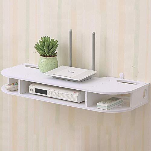 XYFL witte muur gemonteerde plank muur drijvende plank Router opslag plank TV plank multifunctionele scherm plank kabel doos DVD-speler opslag plank TV kast TV console