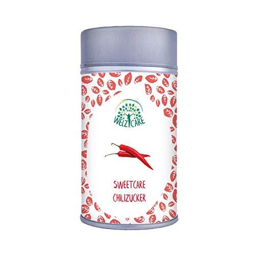 Sweetcare Sugar Chilli, The Sugar Substitute con Eritritolo, stevia e bene a Ground Chilli l' alternativa naturale a zucchero