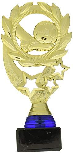 Art-Trophies Trofeo Deportivo con Diseño Laurel, Oro