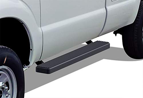 APS iBoard Running Boards 5in Black Compatible with Ford F250 F350 Super Duty...
